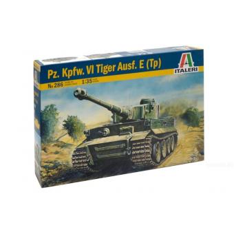 Танк TIGER I  AUSF. E/H1 1:35