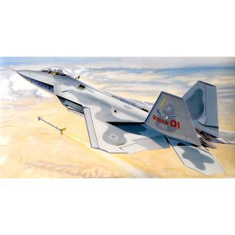 Самолет F-22 Раптор 1:48