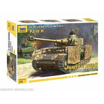 Немецкий средний танк PZ IV-H 1:72