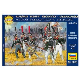 Русские гренадеры 1812 гг. 1:72