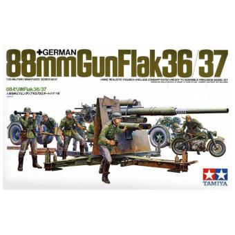 88 мм пушка Gun Flak 36/37 1:35