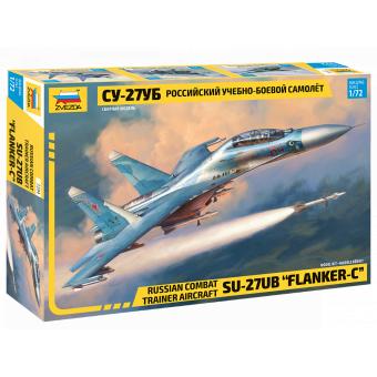 Cамолёт Су-27УБ 1:72