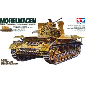 Flakpanzer Mobelwagen 1:35
