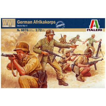 Немецкий африканский корпус второй мировой 1:72