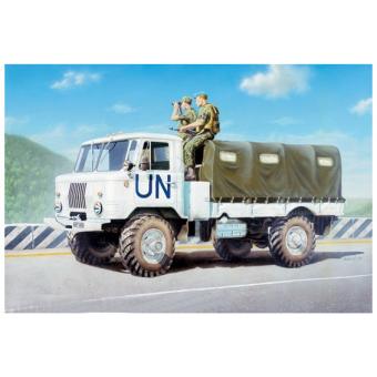 Армейский грузовик (тент) 1:35