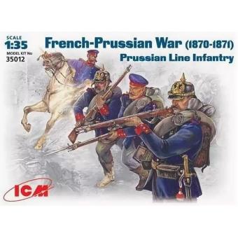 Фигуры, Прусская линейная пехота 1:35