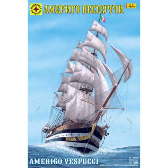 Корабль Америго Веспуччи 1:150