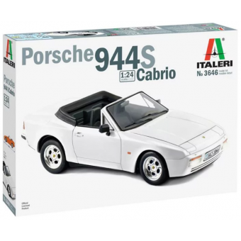 Автомобиль PORSCHE 944 S Cabrio 1:24