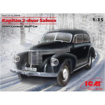 Kapitan седан двухдверный, германский автомобиль 2МВ 1:35