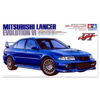 MITSUBISHI LANCER EVOLUTION VI, 1999 г. 1:24