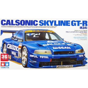 Calsonic GT-R (R34) 1:24