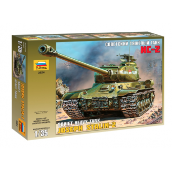 Советский Танк ИС-2 1:35
