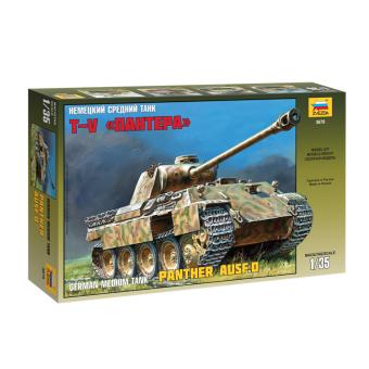 Немецкий танк Пантера 1:35