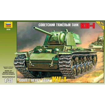 Советский танк КВ-1 1:35