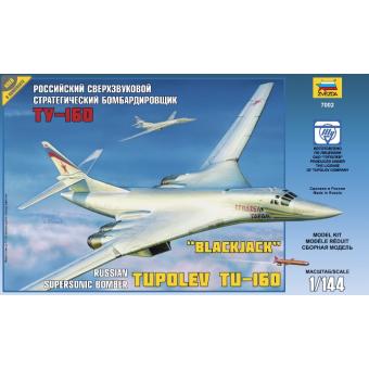 Самолет Ту-160 1:144