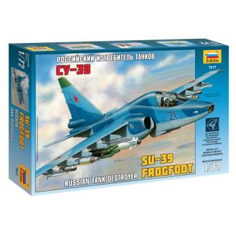 Самолет Су-39 1:72
