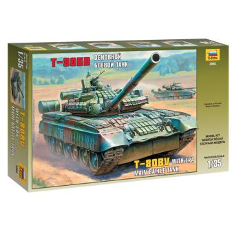 Танк Т-80БВ 1:35