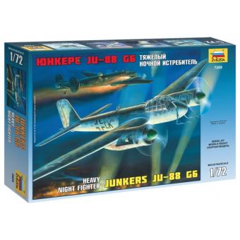 Тяжелый ночной истребитель Юнкерс JU-88 G6 1:72