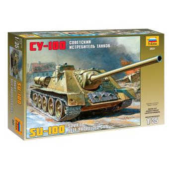Советский истребитель танков СУ-100 1:35