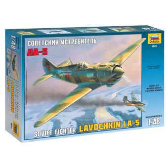 Самолет Ла-5 1:48