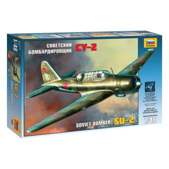 Самолет Су-2 1:48