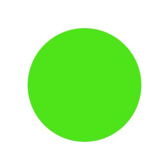 Краска ярко-зеленая для моделей Акрил-46 Zvezda
