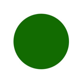 Краска зеленая-интерьерная для моделей Акрил-21 Zvezda