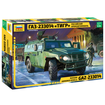 Российский бронеавтомобиль ГАЗ-233014 Тигр 1:35