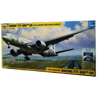 Боинг-777 сборная модель 1:144