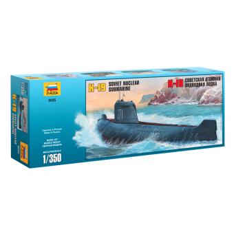 Подводная лодка К-19 1:350