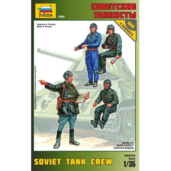 Советские танкисты 1:35