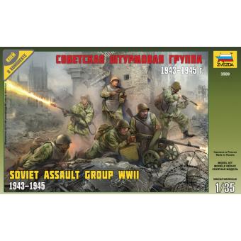 Советская штурмовая группа 1943-1945 1:35