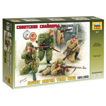 Советские снайперы 1941-1943 1:35