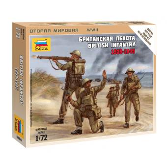 Британская пехота 1939-1945 1:72
