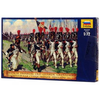 Старая Императорская Гвардия. Гренадеры 1:72