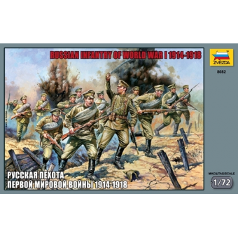Русская пехота Первой мировой войны 1914-1918 1:72
