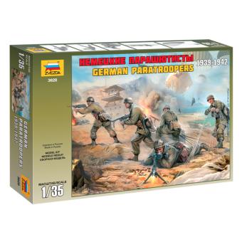 Немецкие парашютисты 1939-1942 1:35
