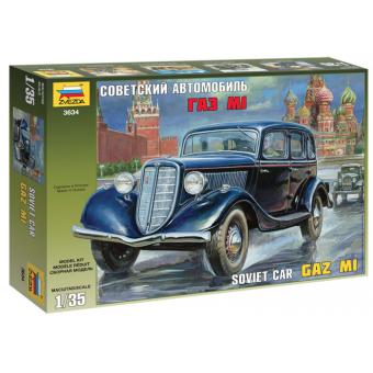 Автомобиль Советский автомобиль ГАЗ М1 1:35
