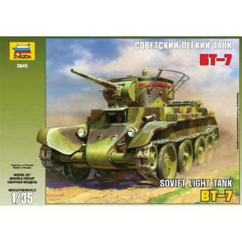 Танк БТ-7 с экипажем 1:35