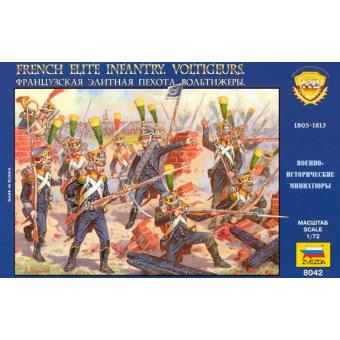 Французская элитная пехота Вольтижеры 1:72