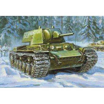 Танк КВ-1 с пушкой Л-11 образца 1940 г. 1:35