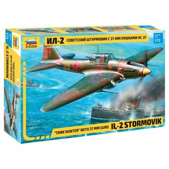 Ил-2 с пушками НС-37 1:72