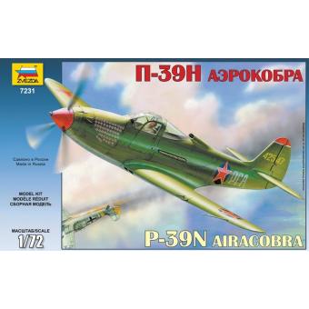 Самолет Аэрокобра 1:72 П-39Н