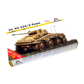 Бронеавтомобиль Sd.Kfz. 234/2 Puma 1:48