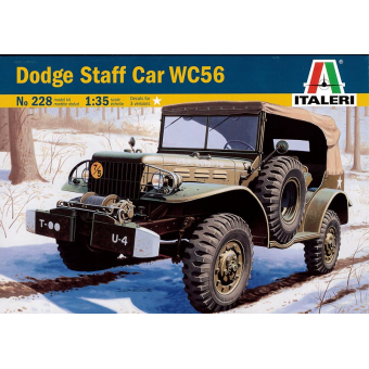 Автомобиль DODGE STAFF CAR WC 56 1:35