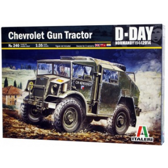Автомобиль CHEVROLET GUN TRACTOR 1:35