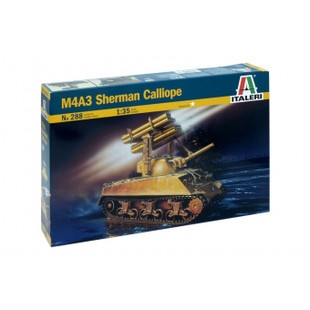 Танк M4A3 SHERMAN CALLIOPE 1:35