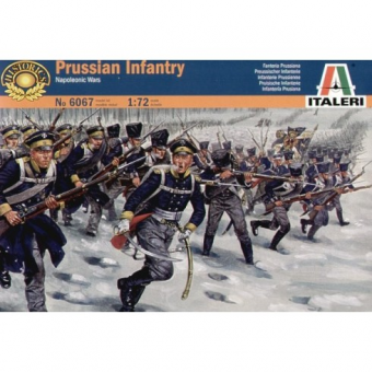 Солдаты NAPOLEONIC WARS: PRUSSIAN INFANTRY 1:72