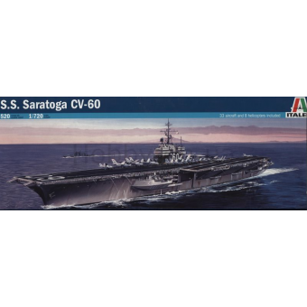 Авианосец U.S.S. SARATOGA CV-60 1:720