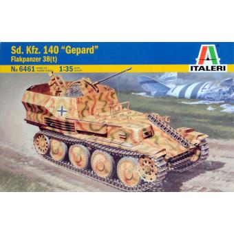Танк SD.KFZ. 140 FLAK PANZER 38 GEPARD 1:35